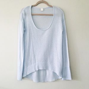 Sweaters - powder blue sweater